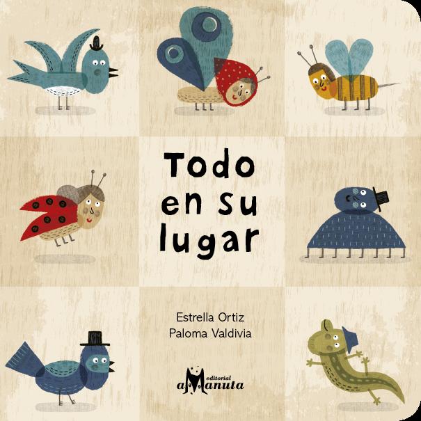 Libro Todo en su lugar - Estrella Ortiz